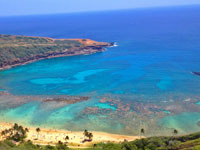 hanauma bay nature preserve on oahu