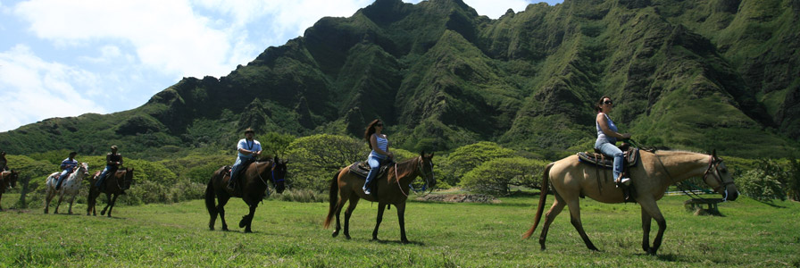 Kualoa Ranch Horseback Adventure